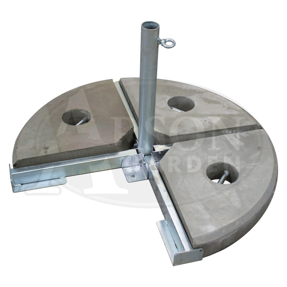 Podstawa betonowa czteroelementowa